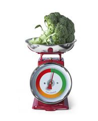 Régime Perte de Poids Balance de Cuisine Brocoli