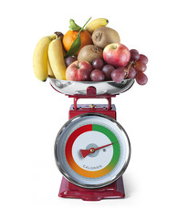 Régime Fruits Perte de Poids Balance de Cuisine