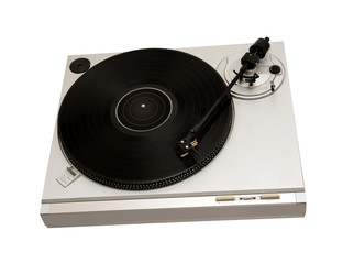vintage audio turntable