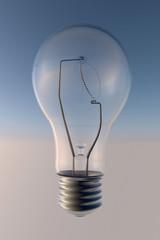 Lampadina bulbo, elettricità, luce