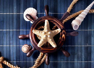 Nautical still life.