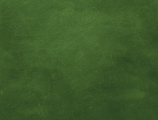 Texture of green blank chalkboard