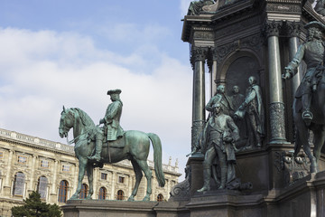 Hofburg Palace detail in Vienna