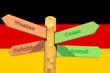 Deutschland (Westen-Osten)