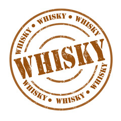 Whisky stamp