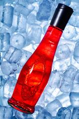 Mixgetränk auf Eis