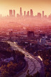 canvas print picture Los Angeles - California City Skyline