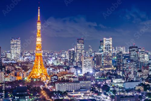Tokyo, Japan at Tokyo Tower - 60694269