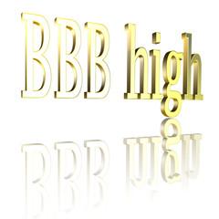 Ratingcode BBBhigh