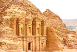 The Monastery in the ancient Jordanian city of Petra, Jordan