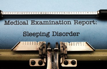 Sleeping disorder  report