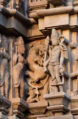 Apsaras, Sculptors ,Khajuraho,  India, UNESCO site