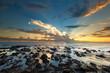 Bord de mer, île de la Réunion