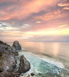Fototapety Sunset on the Mediterranean Sea