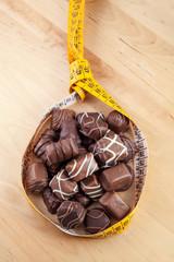 No dieta - cioccolatini assortiti
