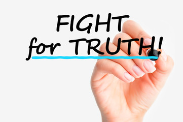 Fight for truth