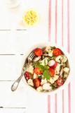Vegetable salad with Cauliflower and Cherry Tomatoes