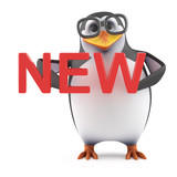 Academic penguin has something new
