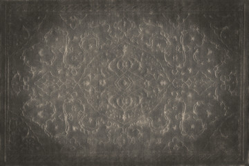 Vintage wallpaper, grunge fabric texture
