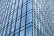 Detail - modernes Hochhaus in Frankfurt - Glasfront