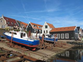 Bootshafen von Urk (Holland)