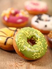 shiny donuts