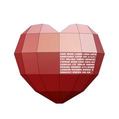 Heart&Love on 30 language