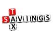 3D Savings Tax Crossword