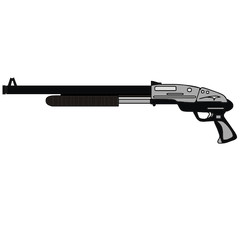 shotgun vector drawing