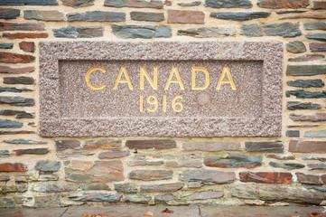 Hill 62 Canadian War Memorial, Ypres, Belgium