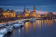canvas print picture - Dresden.