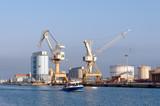 Port  la  nouvelle,  infrastructure industrielle poster