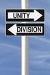 Unity Versus Division