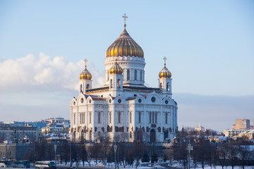 Winter in Moscow - Cathedral of Christ the Savior