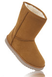 UGG, womens sheepskin boots isolated on white