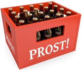 Kasten Bier Prost