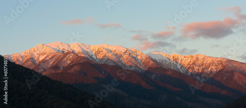 Alpine Sunset on Mt Bogong, Australia