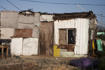 South African Township Home