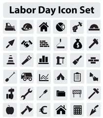Labor Day Icon Set