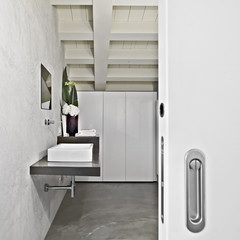 bagno moderno in mamsarda