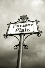 pariser platz in Berlin, Germany