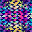 Abstract triangles, geometric background