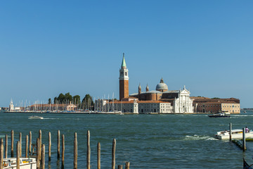 Italy , Venice. View of the islands of the Venetian lagoon