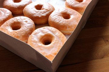 Irresistible Glazed Doughnuts