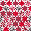 Anise stars pattern