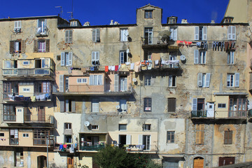 Façades de Bastia