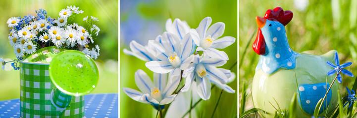 Frühling - Collage