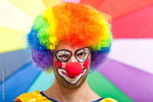 Funny clown