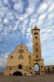A view of the beautiful Trani cathedral.Puglia,Italy.