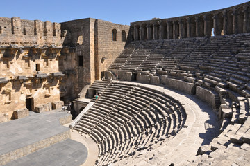 The Roman Theatre in Aspendos